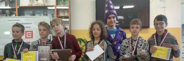 Regionální kolo  soutěže Mladý programátor vyhráli naši žáci