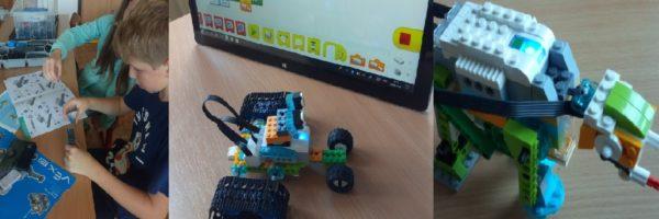 Zábavná i poučná lego  a vex robotika