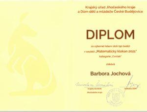 klokan Barbora Jochova