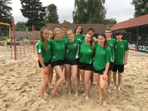 Pohár primátora – volejbal na písku 3.místo