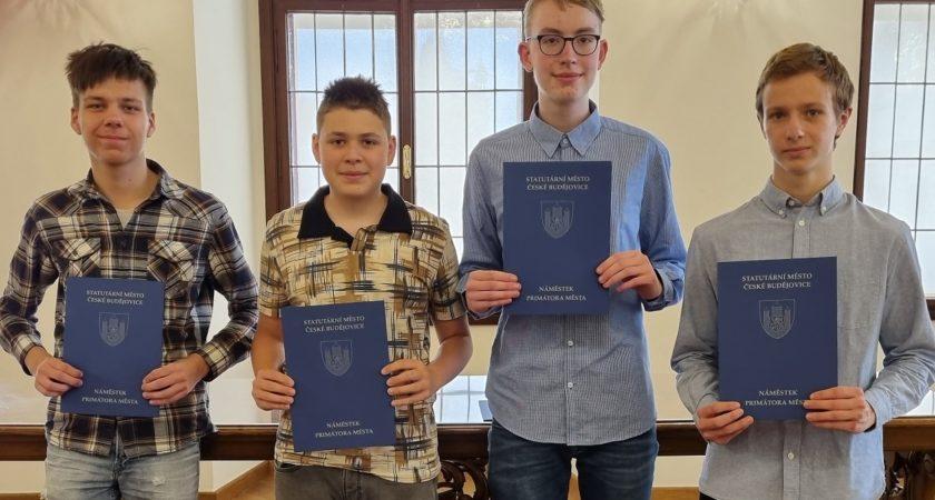 Ocenění úspěšných žáků 2021