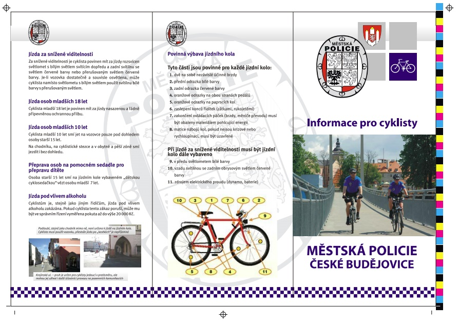 Informace pro cyklisty